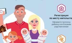 Прописка ребенка по месту жительства через Госуслуги: Инструкция