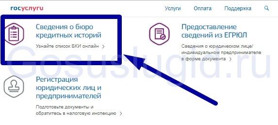 Изображение - Как проверить кредитную историю через госуслуги 2.-Svedeniya-o-BKI