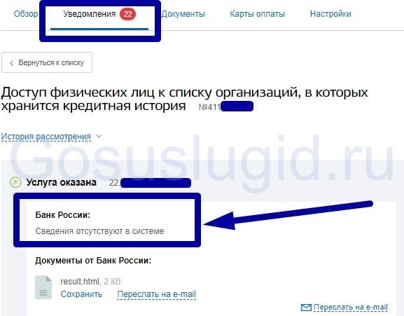 Изображение - Как проверить кредитную историю через госуслуги 5.-Istoriya